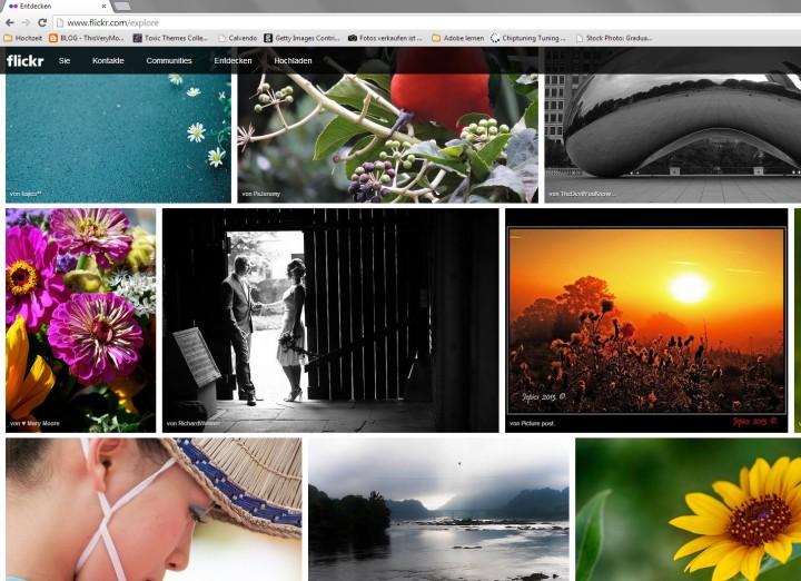 Yahoo! Ähm, juhu!! Mein Foto zum zweiten Mal als Flickr Explore