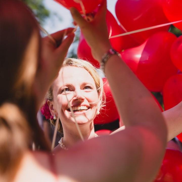 Nicole und Martin heiraten im Schloß Favorite in Rastatt
