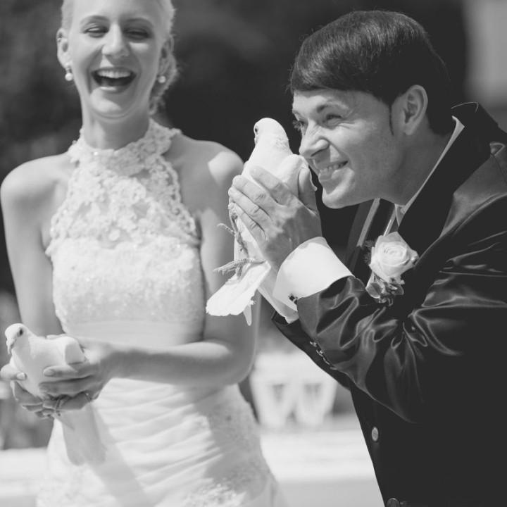 Jessica und Norbi heiraten in Pforzheim
