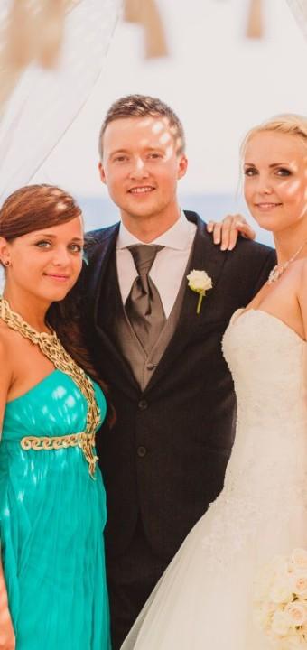 Inga und Waldemar heiraten auf Mallorca