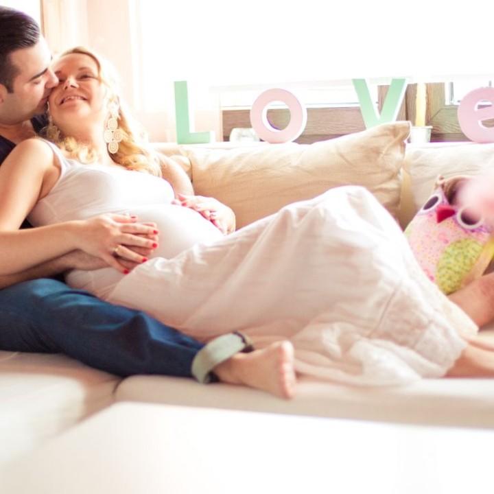 Babybauchfotos für Anna und Kevin