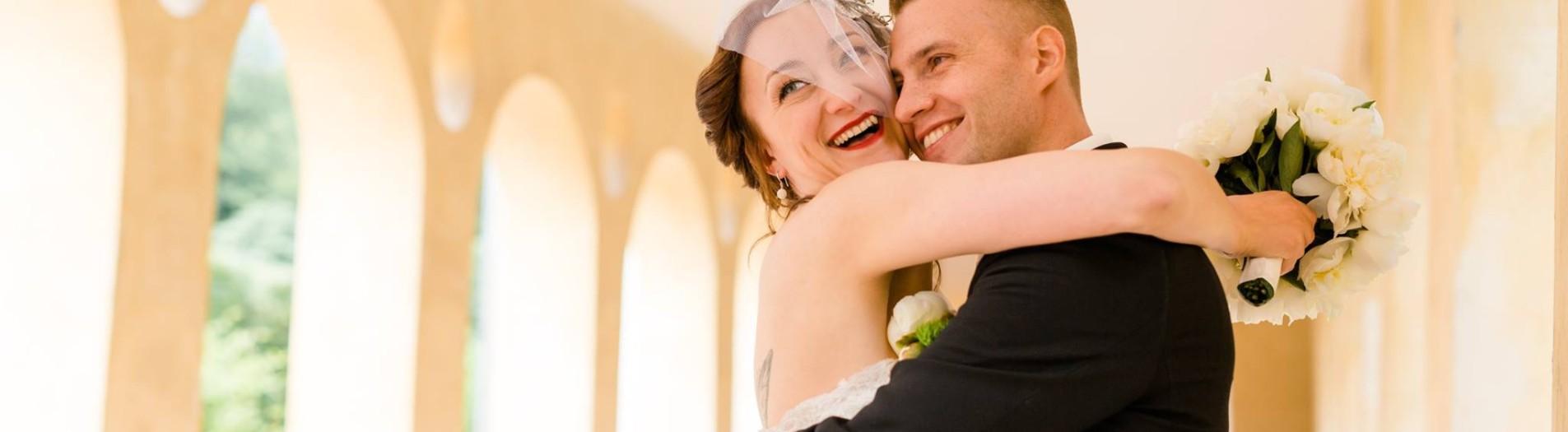 Hochzeitsfotografie in Seltz und Schloß Favorite