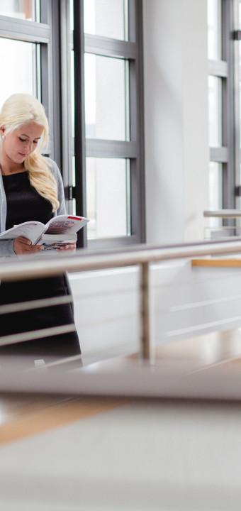 Businessfotos für eine Beraterin