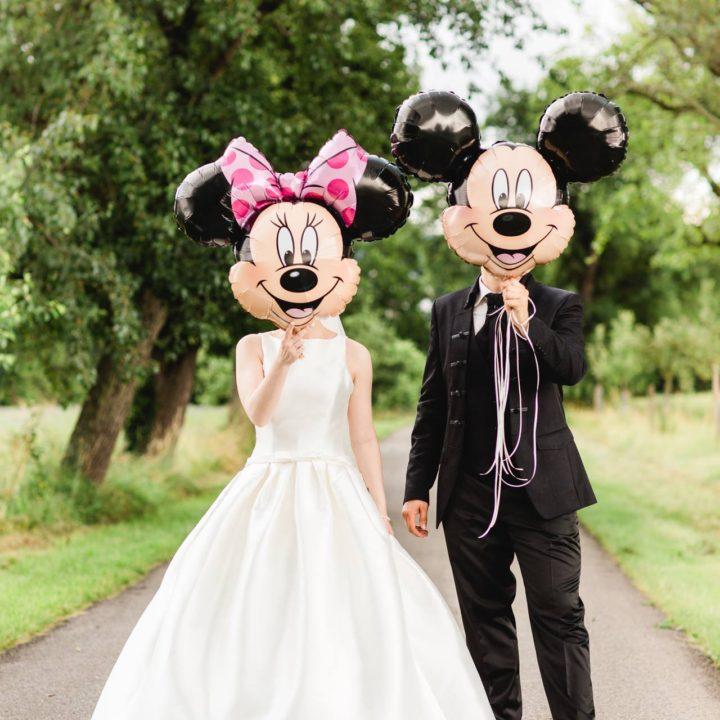 Hochzeitsfotos und Hochzeitsfilm