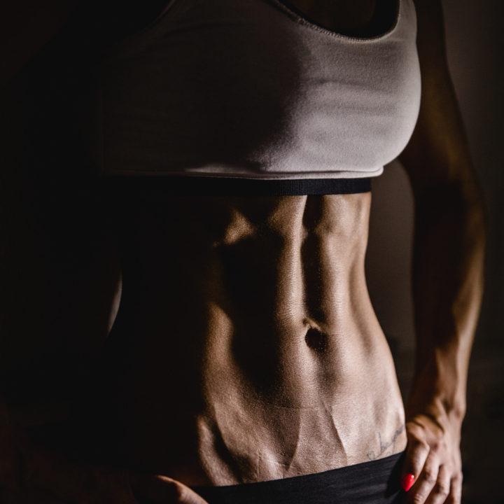 Fitnessportraits mit Vivian
