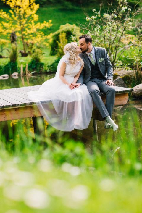 Viktorias und Arturs Hochzeitsfeier auf Hofgut Hohenstein