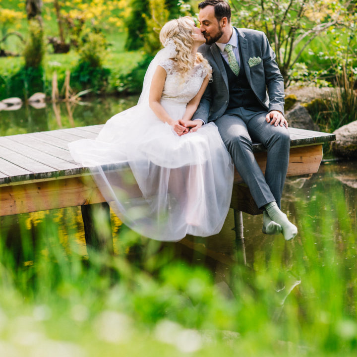 Viktorias und Arturs Hochzeitsfeier