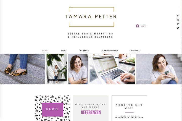 Charakter und Imagefotos für Tamara Peiter Social Media Management