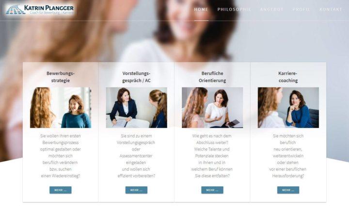 Ein Projekt für: Karriereberatung und Bewerbungstraining - Coach Katrin Plangger