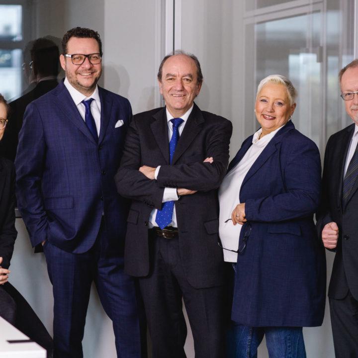 Vorstandsfotos für die Domus Cura